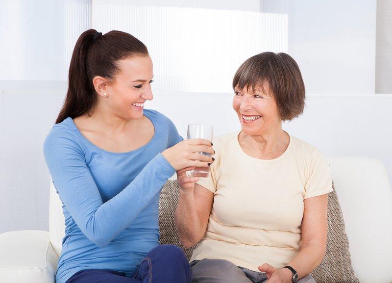Discharging elderly patients
